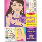 Colectia de abtibilduri - bijuterii si manichiura Melissa and Doug