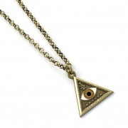 Warner bros Les Animaux fantastiques collier Macusa Triangle eye pendentif officiel Fantastic beasts
