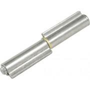 Balama sudabila pentru porti metalice IBFM Ø13,5x100 mm, cu bolt extractibil, otel zincat