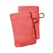 Washandjes roze Corail - Set van 2