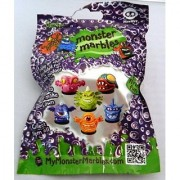 Monster Marbles Series 1.1 (2 Monster Marbles Included Plus Chalk Games) by Wow Wee