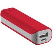Trust 21223 Caricabatterie Portatile Batteria Supplementare 2200 Mah Usb / Microusb Per Telefono Cellulare Smartphone Tablet Colore Rosso - 21223 Primo