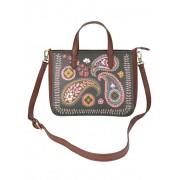 Lilio` Handtasche mit mehreren Tragemöglichkeiten, grün