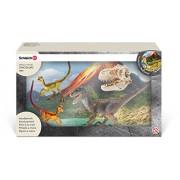 Schleich Velociraptor on The Hunt Play Set