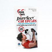 Love Em Purrfect Beef Cat Treat 90G