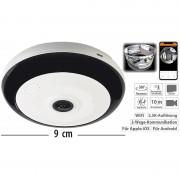 7links 360°-Panorama-Überwachungskamera mit 5 MP, Nachtsicht, WLAN & App