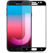 TechGear Edge To Edge Tempered Glass for Samsung Galaxy J7 Max (Black)