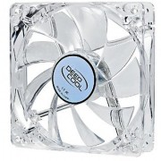 DEEPCOOL XFAN 120L/R Hydro Bearing Transparent Fan with Red LED 120mm Fan