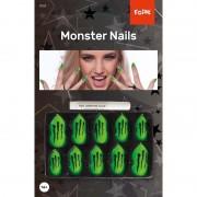 Geen Kunstnagels set monster inclusief lijm