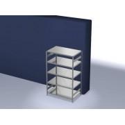 Discountoffice Systeemstelling Grondveld HxBxD 2000x1360x835mm Vakl. 240kg