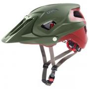 Uvex Quatro Integrale - casco MTB - Green/Red