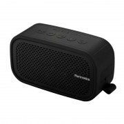 Portronics Posh 6 W Portable Bluetooth Speaker (Black, Stereo Channel)