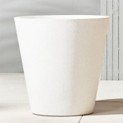 shore wide polyterrazzo planter by CB2