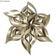 Rayher hobby materialen Kerstster knutsel set goud