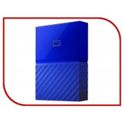 Жесткий диск Western Digital My Passport 2Tb Blue WDBLHR0020BBL-EEUE