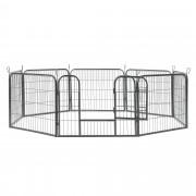 [pro.tec] Skladacia ohrada ABWI-5209 kovová 157x157x60 cm
