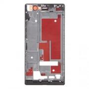iPartsBuy Boîtier de Cadre de Cadre Avant pour Huawei Ascend P7 (Noir)