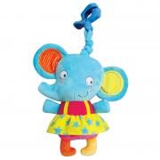 Tob igračka na povlačenje muzički slonić Elle