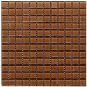 Maxwhite H26 Mozaika skleněná hnědá 29,7x29,7cm