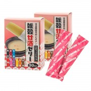 雑穀甘酒ゼリー 30包×2箱 計60包【QVC】40代・50代レディースファッション