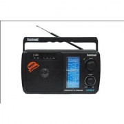 Santosh Five Band Portable FM Radio With USB AUX Support With Remote Control (Sainik 2)
