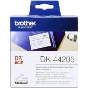Brother DK-44205 Etiquetas blanco Cinta continua, 62 mm x 30,48 m