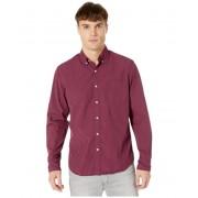 JCrew Slim Stretch Secret Wash Shirt in Organic Cotton Classic Gingham Parker Gingham RedNavy