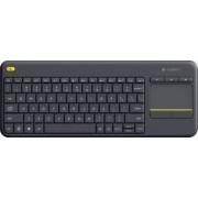 Tastatura Wireless Logitech K400 PLUS Black