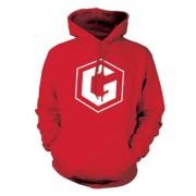 Grian Hoodie - Red - Kids L (9/11 years)