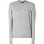 Fred Perry Sweater met logoborduring