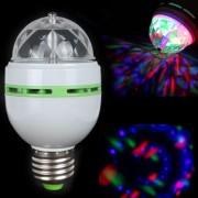 Mini disco žiarovka rotujúca 3 W