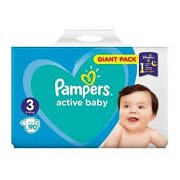 Scutece Pampers Active Baby Maxi nr.3 90/set