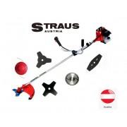Motocoasa benzina Straus Austria 3.5CP cu 5 moduri de taiere