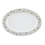 Platou oval portelan Versace 19.69 Linoleum 36 cm