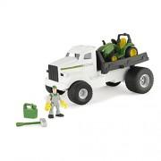 Ertl John Deere Gear Force Hauler Truck With Tractor