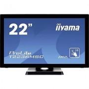 IIYAMA T2236MSC-B2 Touchscreen 54.6 cm (21.5 ) 1920 x 1080 pix 16:9...