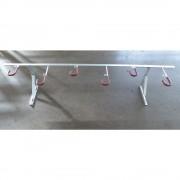 Fahrradaufhänger für Wandbefestigung Länge 2100 mm