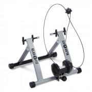 KLARFIT Tourek Vélo Rouleau Home trainer 26/28 pouces 100kg acier - argent