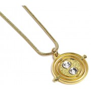 Carat Shop Harry Potter - Fixed Time Turner (gold plated) Pendant & Necklace