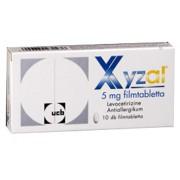 Xyzal tabletta 10x -