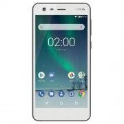 "Smart telefon Nokia 2 DS Beli 5.0""HD, QC 1.3GHz/1GB/8GB/8&5Mpix/4G/Android 7.1.1"