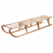 Fa szánkó kötéllel - 125 cm Ajándéktárgy
