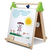 Jainson Discovery Kids Wooden 3-in-1 Tabletop Easel