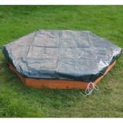 Freeport Park 150 cm sechseckiger Sandkasten Jon mit Schutzbezug Freeport Park