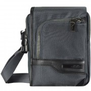 Samsonite GT Supreme bolso bandolera 18 cm grey black