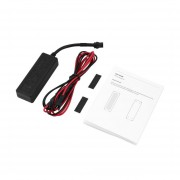 EY Car Tracker GPS Localizadores De Vehículos Dispositivo Antirrobo Con Cable De 2P-Negro