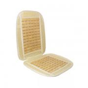 Ülésvédő plüss gyékény vajszínű AM5449