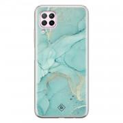 Casimoda Huawei P40 Lite siliconen hoesje - Touch of mint
