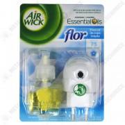 Airwick Aparat cu rezerva odorizant camera, flor, 19 ml