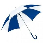 Umbrela Disco White Blue